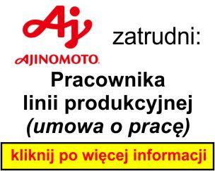 AJINOMOTO - pracownik lini produkcyjnej 2