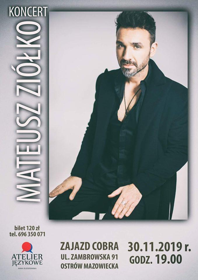 Koncert Mateusza Ziółko