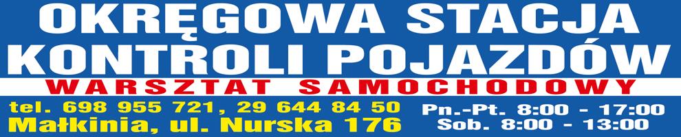 Okręgowa Stacja Kontroli Pojazdów w Małkini