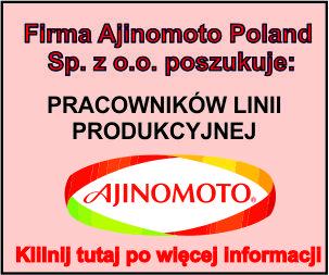 AJINOMOTO - pracownik lini produkcyjnej
