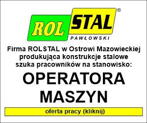 Rols - OPERATOR MASZYNOWY