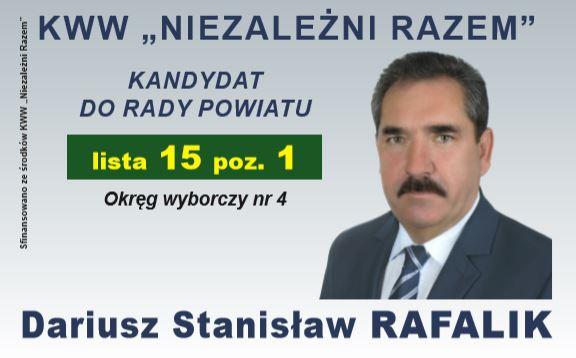 Wybory 2018 - Rafalik Dariusz
